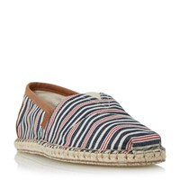 Toms Striped Espadrilles Multi Coloured