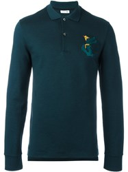 Lacoste Long Sleeve Polo Shirt Green