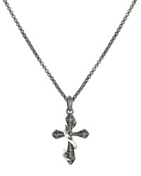 Thorn Cross Men's Necklace Stephen Webster Blue