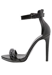 Mai Piu Senza High Heeled Sandals Nero Black