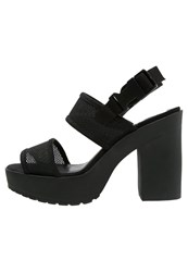 Evenandodd High Heeled Sandals Black