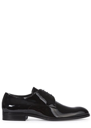 Mr. Hare Poitier Black Patent Leather Derby Shoes