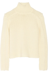 Marni Chunky Knit Wool Blend Turtleneck Sweater