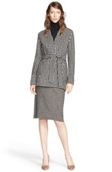 Women's Max Mara 'Geisha' Reversible Wool And Cashmere Wrap Jacket