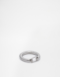 Cheap Monday Clasp Ring Silver