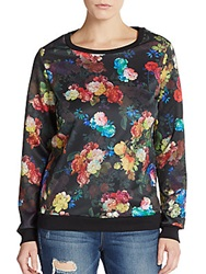 Romeo And Juliet Couture Floral Print Pullover