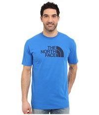 The North Face Short Sleeve Half Dome Tee Bomber Blue Cosmic Blue Men's T Shirt