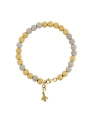 Carolina Bucci 'Florentine Finish' Beaded Bracelet Metallic