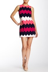 Love...Ady Multi Chevron Shift Dress No Color