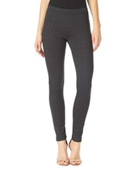 Sanctuary Checkered Ankle Length Pants Grey