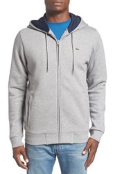 Lacoste Men's Fleece Zip Hoodie