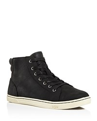 Ugg Gradie High Top Lace Up Sneakers Black