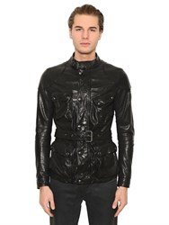 Belstaff Speedmaster Leather Field Jacket