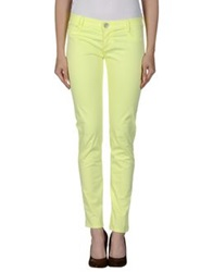 Fifty Four Casual Pants Yellow