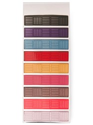 Paul Smith Striped Money Clip Multicolour