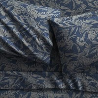 Cb2 Set Of 2 The Hill Side Tropical Leaves King Pillowcases