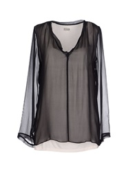 Alpha Studio Blouses Black