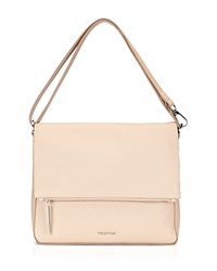 Whistles Shoulder Bag Lexham Foldover Zip Nude