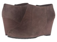 Easy Spirit Cardea Dark Taupe Suede Women's Shoes Brown