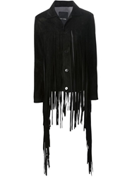 Each X Other Fringed Suede Jacket