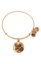 Alex And Ani Women's 'Zodiac' Expandable Wire Bangle Gold Scorpio