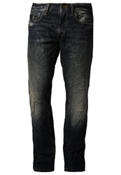 S.Oliver Straight Leg Jeans Blue Denim Dark Blue