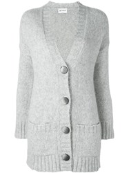 Dondup Chunky Cardigan Grey