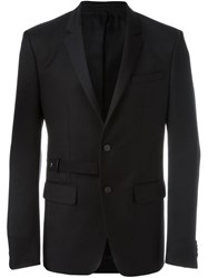 Givenchy Belt Detail Blazer Black