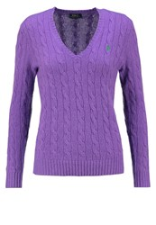 Polo Ralph Lauren Kimberly Jumper Spencer Purple