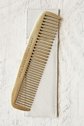 Izola Brass Comb Not A Hair Out Of Place