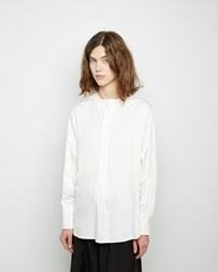 Y's Dolman Tunic Shirt White