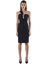 Preen Ted Mid Length Ring Dress Black