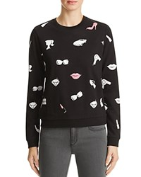 Eleven Paris Graphic Print Sweatshirt All Over Print