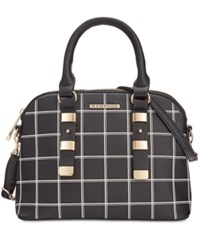 Rampage Dome Satchel Only At Macy's Checkered