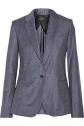 Equipment Jay Wool Blazer Blue
