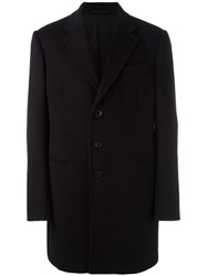 Armani Collezioni Single Breasted Coat Black