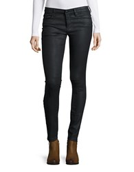 True Religion The Runway Moto Leggings Black River
