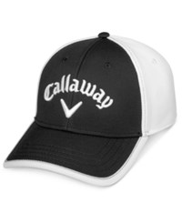 Callaway Men's Tour Staffer Colorblocked Embroidered Logo Hat Black