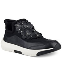 Nine West Novak Embellished Athletic Sneakers Women's Shoes Black