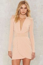 Zhivago Swallow Mini Dress Beige