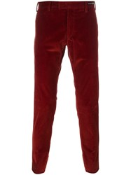 Pt01 Skinny Trousers Red