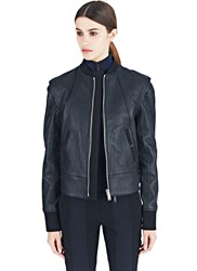 Paco Rabanne Leather Bomber Jacket