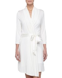 Fleurt Take Me Away Travel Robe With Silk Inset Belt And Hidden Pockets Black
