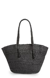 Phase 3 Woven Straw Tote Black