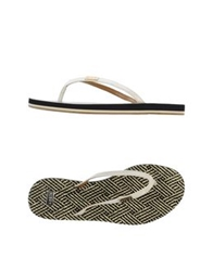 Aerin Thong Sandals Black