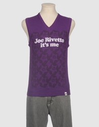 Joe Rivetto Sweater Vests Purple