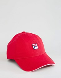 Fila Cap Box Logo Red
