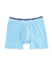 Kenneth Cole Stretch Jersey Boxer Briefs Alaskan Blue