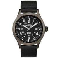 Timex Expedition Scout Watch Black