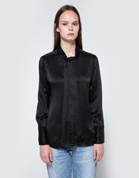 Equipment Leema Tie Blouse True Black